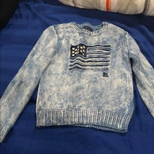 Girls Ralp Lauren sweatshirt